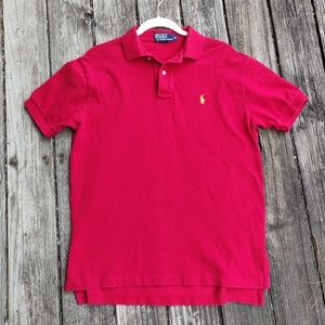Ralph Lauren Red Polo size M